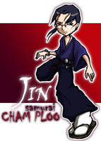 champloo-- SD Jin by TwistedBrow