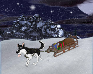 Merry Christmas 2008 by ShadowDHusky