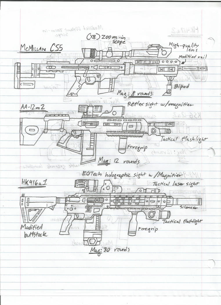 weapons sketch - page 4 by BlackKnife12 on DeviantArt