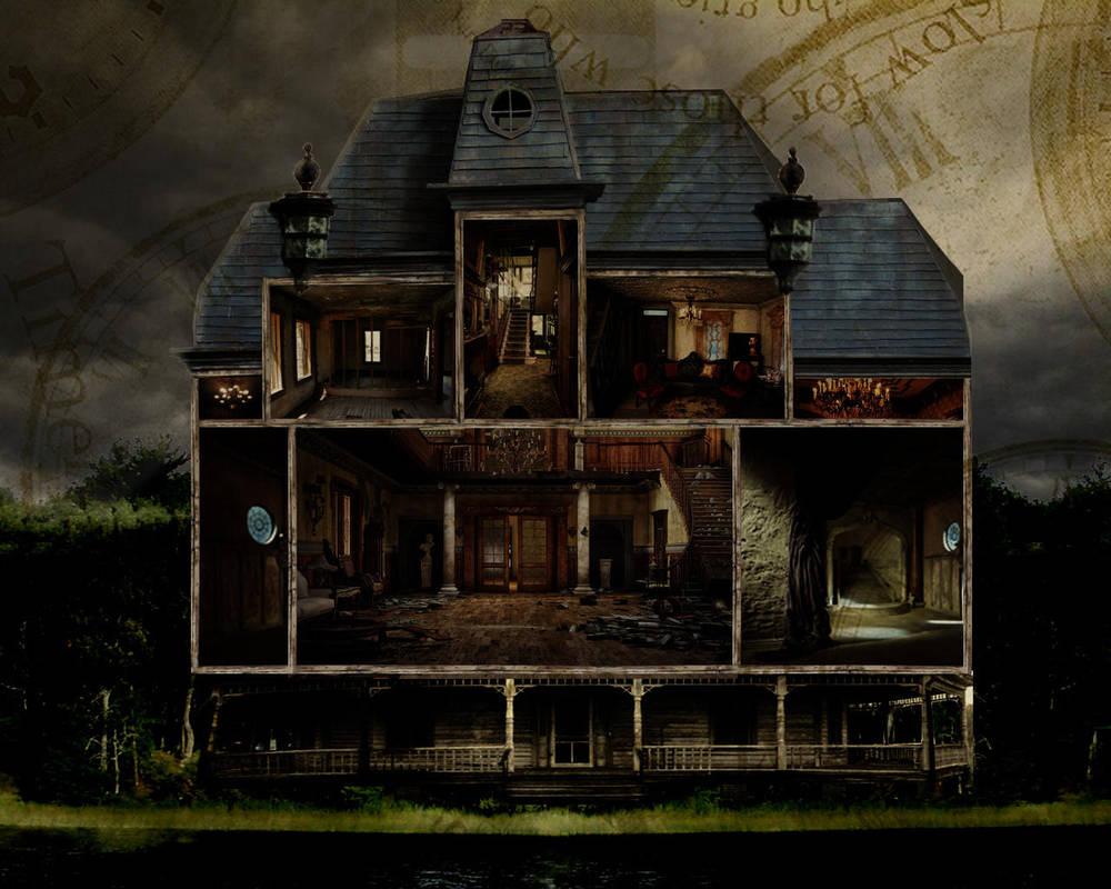 Creepy Dollhouse Mansion By Elraaleo On Deviantart