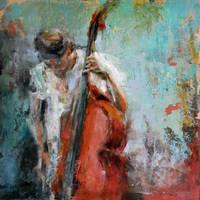 contrabajo.double bass II by Ana7hema