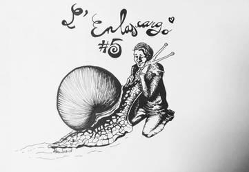 L'Enlascargo by Alizeedrawings