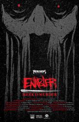 ENABLER MEEK IS MURDER TOUR POSTER 2015 by BURZUM
