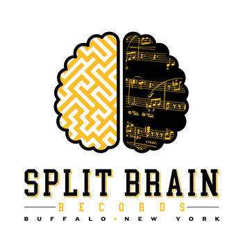 Split Brain Logo SPLIT BRAIN RECORDS LOGO by BURZUM