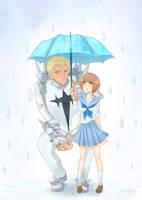 IraMako - Under the Umbrella by Ab-anna