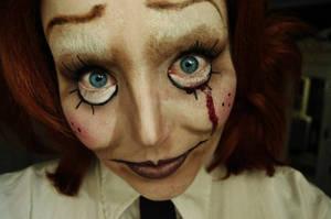 Creepy Doll by SometimesAliceFX