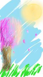 SCRIBBLE ART by M4r14NN