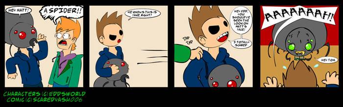 EddsWorld Fancomic: Happy Oct by ScaredyAsh006
