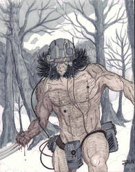 Weapon X by JAWSART