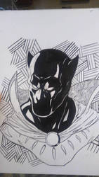 black panther wip by JAWSART
