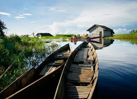 water village by a2udoank