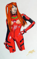 Asuka Langley by Lady-Kiwi