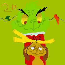 xmas Movies Fanart Week Day #2 Your A Mean one! by beastythedragonofart