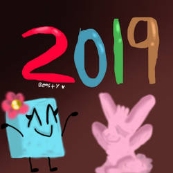 Happy New Year 2019 by beastythedragonofart
