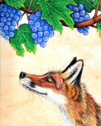 Fox and the Grapes by Lionsong
