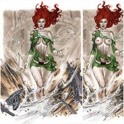 eBas copic Marvel Girl  by ebas