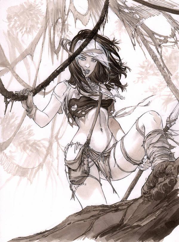 Savage land Rogue Hunter  by ebas