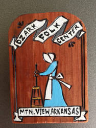 Ozark Folk Center Fridge Magnet! by Demondog888