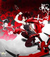 RWBY: Ruby by KonKonna