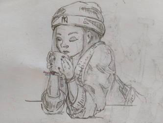 sketch by Lucyli991
