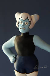 SU: Holly Blue Agate Sculpture [WIP] by Arnne