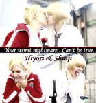 .__. Shinji X Hiyori by Kipizette