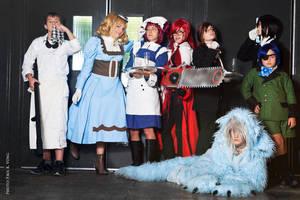 Our Kuroshitsuji Group by Kipizette