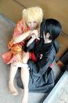 Itachi and Naruko by Kipizette