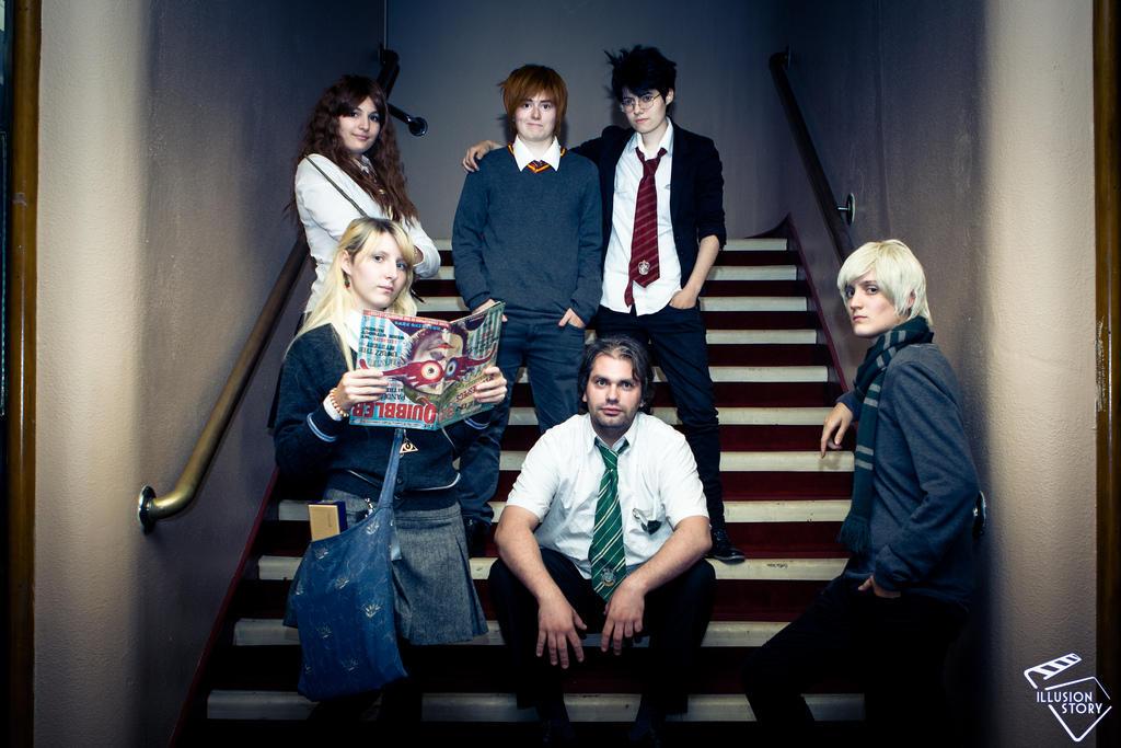 Hogwarts's family by Kipizette