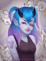 Monster girl by AshleyLun