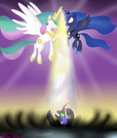 The Banishment of King Sombra by MikorutheHedgehog