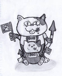 Judd and Li'l Judd by Faulken