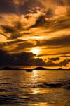 Golden Sunset by hrvojemihajlic