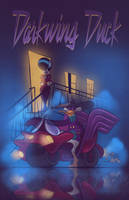 Darkwing Duck - Purple Rain by hard-headed-woman
