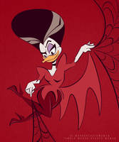 Morgana Macawber DuckTales Style by hard-headed-woman