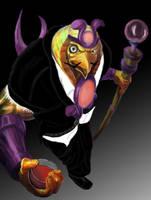Evil Ra Smite by ThePyzu