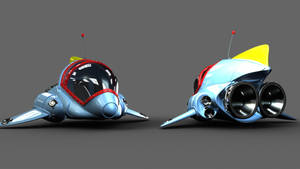 Ratchet and clank 1 ship wip by maceykid