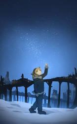 Snowless Night (Girl Last Tour Fan Art) by NRA1447