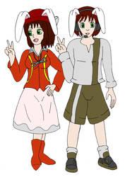 Chiaki and Hideaki by SagashiIndustries
