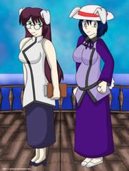 Chika and Mutsumi by SagashiIndustries
