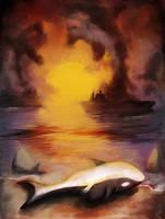 Orca's scream by jelfi