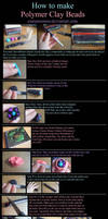 Polymer Clay Beads Tutorial by Cinnamonster