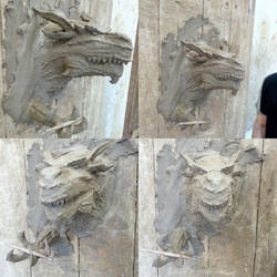 Giant lizard.. [Dragon] by dinosaurbook