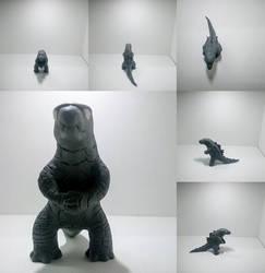(Clay) Gojira 2014 by dinosaurbook