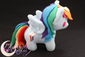 Rainbow Dash Plush by NsomniacArtist