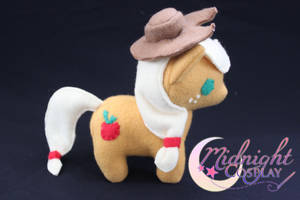 Applejack Plush by NsomniacArtist