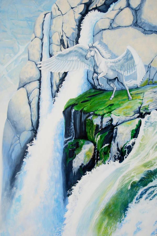 Snowmelt by PaintedKelpie