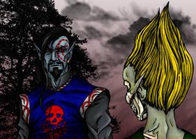 adoring zombie by Zombilein