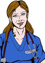 The Nurse WIP by Zombilein