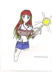 Histra Of The Shining Crossbow by vulcanknight